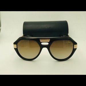 Cazal Men's sunglasses 657 Brown Gold